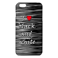I love black and white 2 iPhone 6 Plus/6S Plus TPU Case