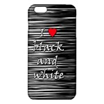 I love black and white 2 iPhone 6 Plus/6S Plus TPU Case Front