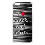 I love black and white 2 Apple Seamless iPhone 6 Plus/6S Plus Case (Transparent) Front