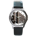Office Building Villa Rendering Round Metal Watch Front