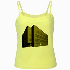 Office Building Villa Rendering Yellow Spaghetti Tank