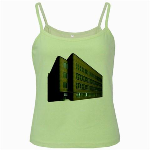 Office Building Villa Rendering Green Spaghetti Tank