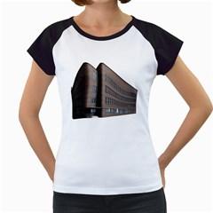 Office Building Villa Rendering Women s Cap Sleeve T