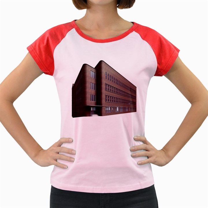 Office Building Villa Rendering Women s Cap Sleeve T-Shirt