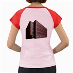 Office Building Villa Rendering Women s Cap Sleeve T-Shirt Back