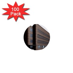 Office Building Villa Rendering 1  Mini Buttons (100 pack)