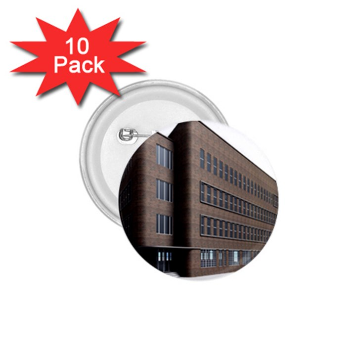 Office Building Villa Rendering 1.75  Buttons (10 pack)
