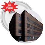 Office Building Villa Rendering 3  Buttons (10 pack)  Front