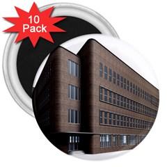Office Building Villa Rendering 3  Magnets (10 pack)