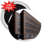 Office Building Villa Rendering 3  Magnets (100 pack) Front