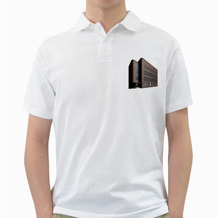 Office Building Villa Rendering Golf Shirts
