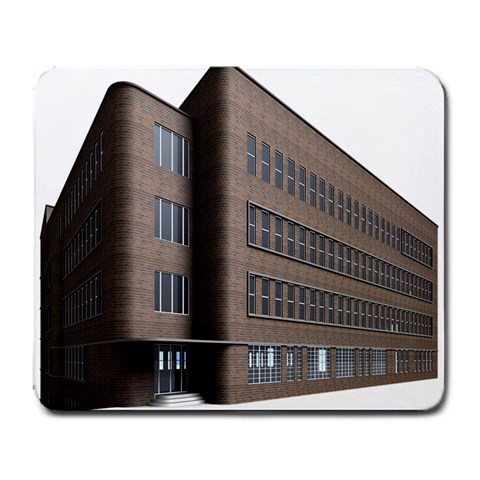 Office Building Villa Rendering Large Mousepads
