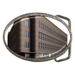Office Building Villa Rendering Belt Buckles