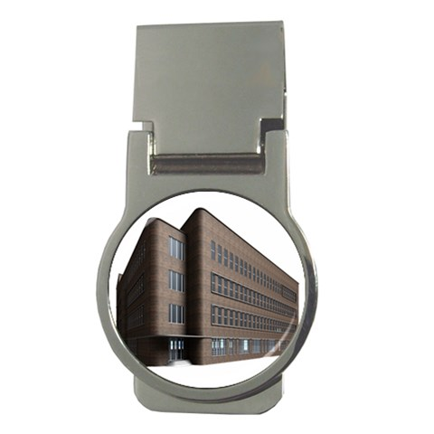 Office Building Villa Rendering Money Clips (Round)