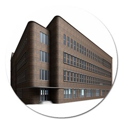 Office Building Villa Rendering Magnet 5  (Round)