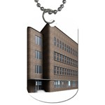 Office Building Villa Rendering Dog Tag (One Side) Front