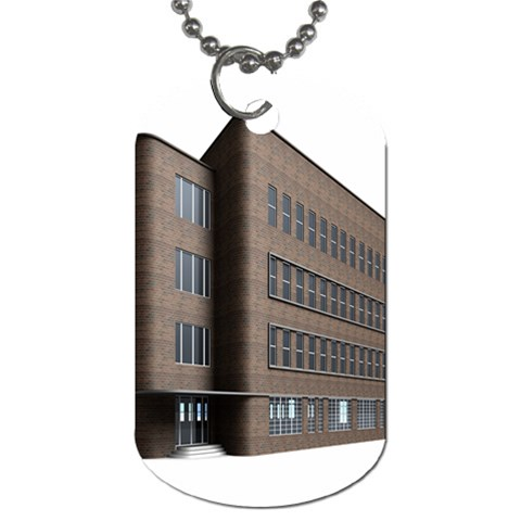 Office Building Villa Rendering Dog Tag (Two Sides)