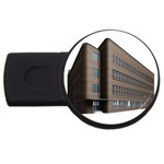 Office Building Villa Rendering USB Flash Drive Round (1 GB)  Front