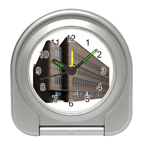 Office Building Villa Rendering Travel Alarm Clocks