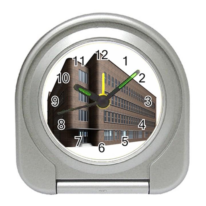 Office Building Villa Rendering Travel Alarm Clocks