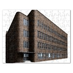 Office Building Villa Rendering Rectangular Jigsaw Puzzl Front