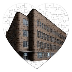 Office Building Villa Rendering Jigsaw Puzzle (Heart)