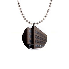 Office Building Villa Rendering Button Necklaces