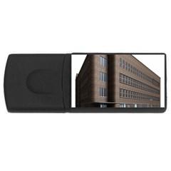 Office Building Villa Rendering USB Flash Drive Rectangular (4 GB)