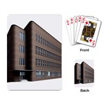 Office Building Villa Rendering Playing Card Back