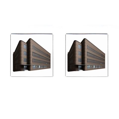 Office Building Villa Rendering Cufflinks (Square)