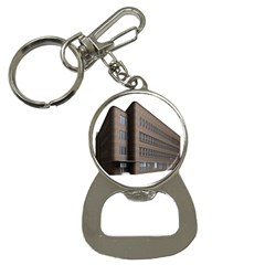 Office Building Villa Rendering Bottle Opener Key Chains