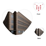 Office Building Villa Rendering Playing Cards (Heart)  Front