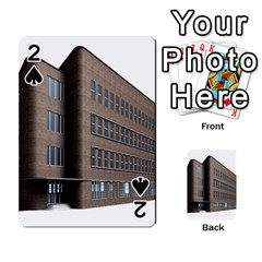 Office Building Villa Rendering Playing Cards 54 Designs