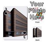 Office Building Villa Rendering Playing Cards 54 Designs  Front - Spade3