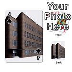 Office Building Villa Rendering Playing Cards 54 Designs  Front - Spade4