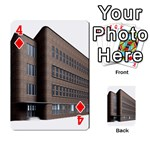 Office Building Villa Rendering Playing Cards 54 Designs  Front - Diamond4