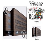 Office Building Villa Rendering Playing Cards 54 Designs  Front - Club10
