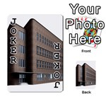 Office Building Villa Rendering Playing Cards 54 Designs  Front - Joker1