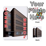 Office Building Villa Rendering Playing Cards 54 Designs  Front - Joker2