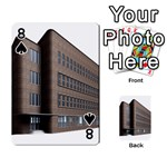 Office Building Villa Rendering Playing Cards 54 Designs  Front - Spade8