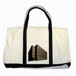 Office Building Villa Rendering Two Tone Tote Bag Front