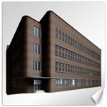 Office Building Villa Rendering Canvas 12  x 12   12 x12 Canvas - 1