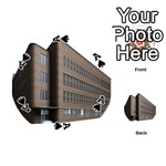 Office Building Villa Rendering Playing Cards 54 (Round)  Front - SpadeA