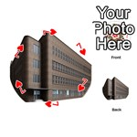Office Building Villa Rendering Playing Cards 54 (Round)  Front - Heart7