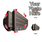 Office Building Villa Rendering Playing Cards 54 (Round)  Front - Heart8