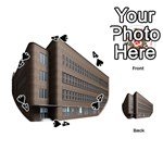 Office Building Villa Rendering Playing Cards 54 (Round)  Front - Spade4