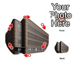Office Building Villa Rendering Playing Cards 54 (Round)  Front - HeartQ