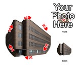 Office Building Villa Rendering Playing Cards 54 (Round)  Front - HeartK