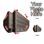 Office Building Villa Rendering Playing Cards 54 (Round)  Front - Diamond2