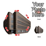 Office Building Villa Rendering Playing Cards 54 (Round)  Front - Diamond8